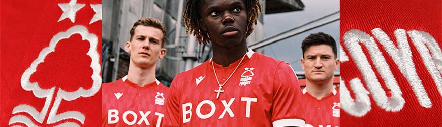 camisetas de futbol Nottingham Forest
