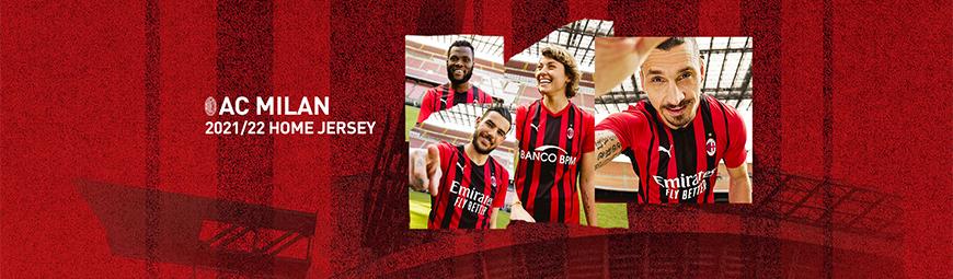 camisetas de futbol AC Milan