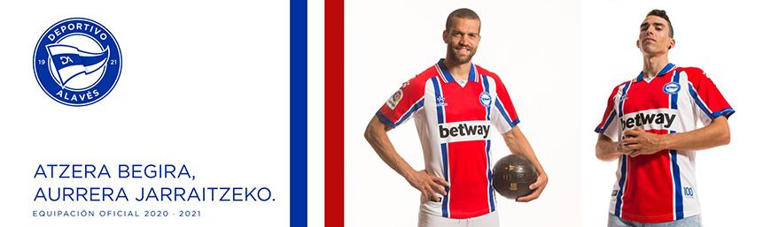 camisetas de futbol Alaves
