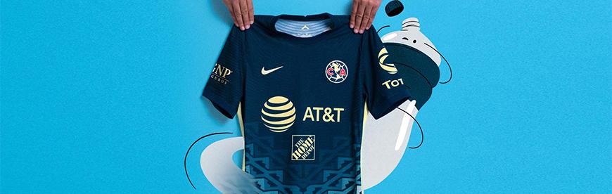 camisetas de futbol America