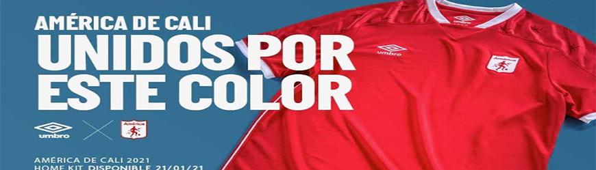 camisetas de futbol America de Cali
