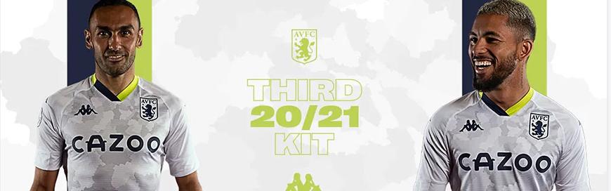 camisetas de futbol Aston Villa