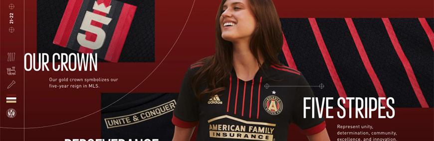 camisetas de futbol Atlanta United 2022