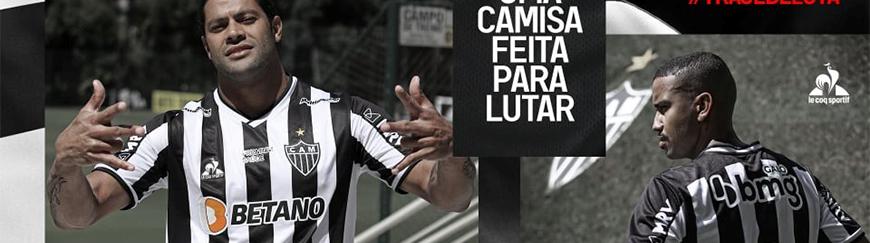 camisetas de futbol Atletico Mineiro