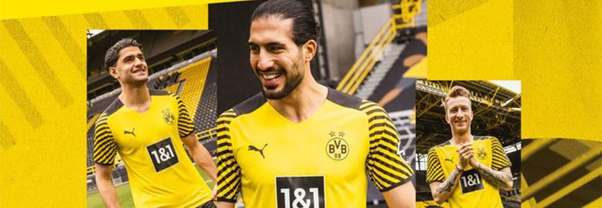 camisetas de futbol Borussia Dortmund
