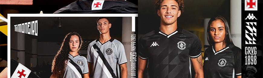 camisetas de futbol CR Vasco da Gama