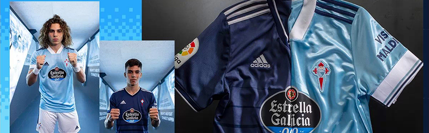 camisetas de futbol Celta de Vigo 2022