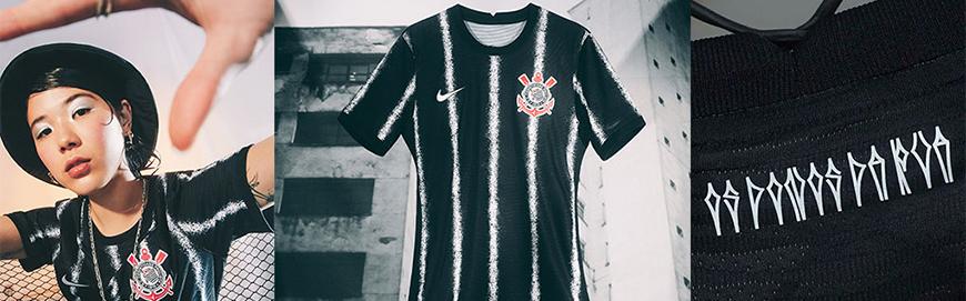 camisetas de futbol Corinthians