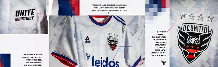 camisetas de futbol DC United