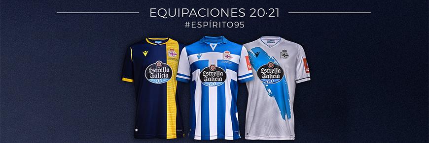 camisetas de futbol Deportivo de La Coruna