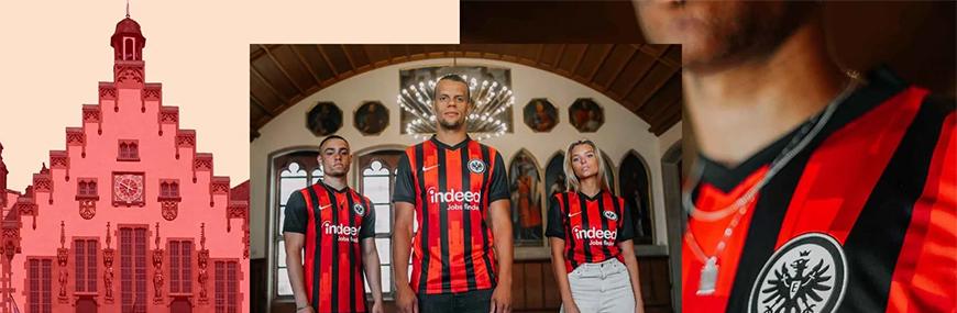 camisetas de futbol Eintracht Frankfurt