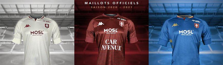 camisetas de futbol FC Metz 2022