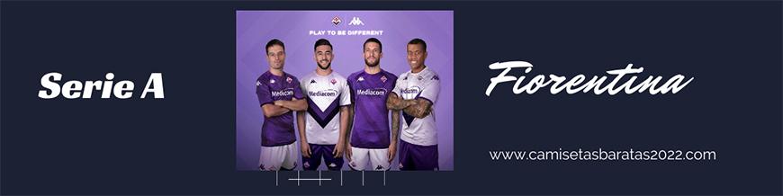 camisetas de futbol Fiorentina