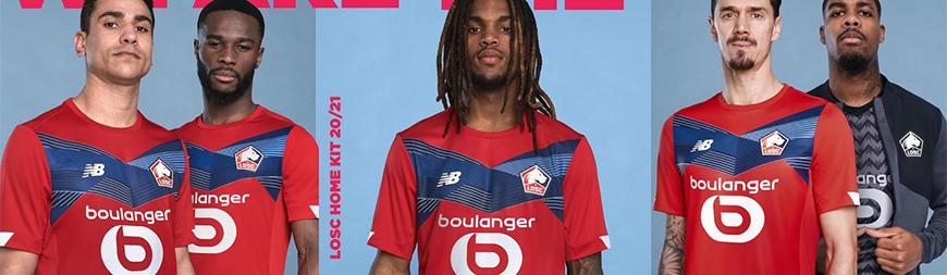 camisetas de futbol Lille 2022