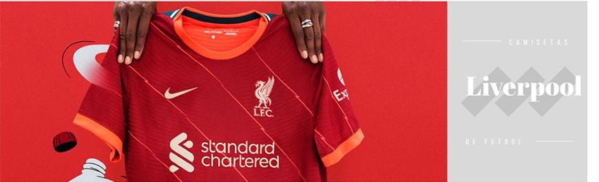 camisetas de futbol Liverpool