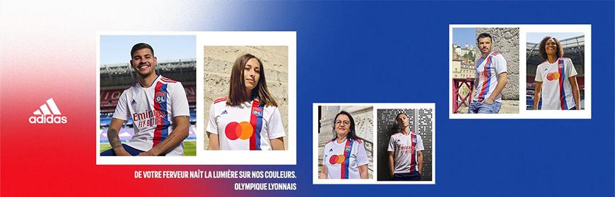 camisetas de futbol Lyon