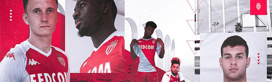camisetas de futbol Monaco