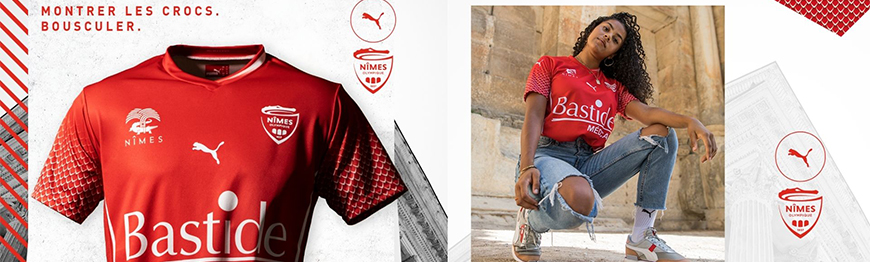 camisetas de futbol Nimes Olympique