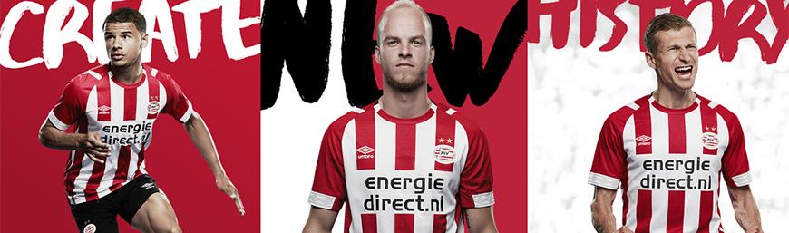 camisetas de futbol PSV