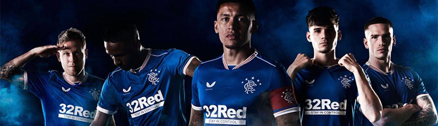 camisetas de futbol Rangers