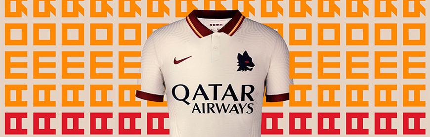 camisetas de futbol Roma