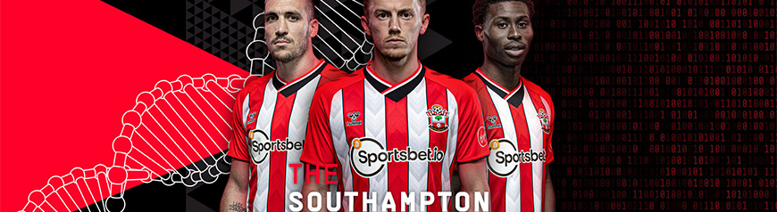 camisetas de futbol Southampton