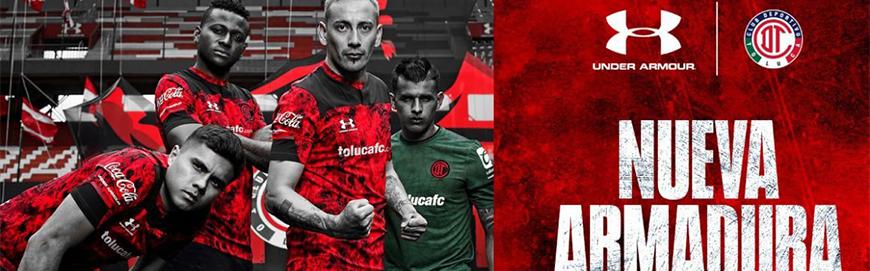 camisetas de futbol Toluca