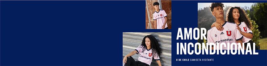 camisetas de futbol Universidad de Chile